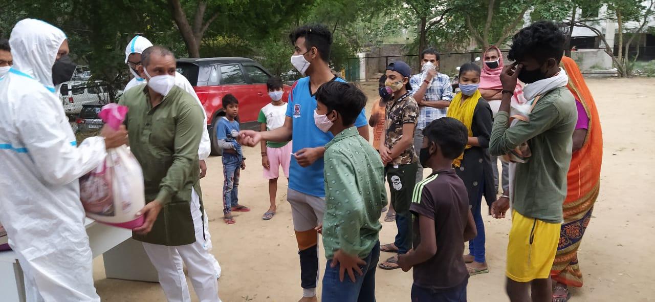 Food Relief in Goa & Delhi